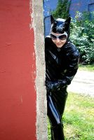Catwoman Sneaking by ComfortablyEccentric