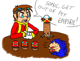 Sonic Concept: Young Eggman .:Quicky:. by SuperBlade9000