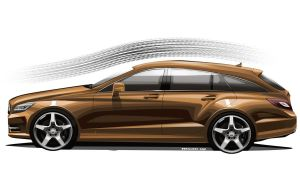 Mercedes-Benz CLS Shootingbrake production version by JB-95