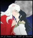 Inuyasha and Kagome by HimeAndi