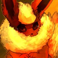 Flareon by Dhui