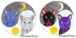 Yin and Yang by Leopard-Enya