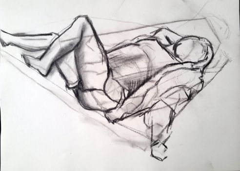Laying Figure - 15 minutes by ZacharyStraub