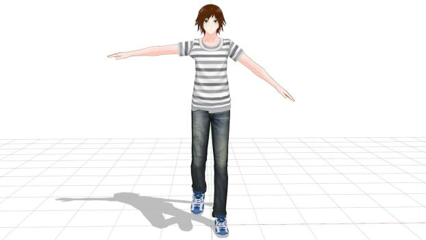 PMX Editor help needed + wip Joshua by HimeSeira-sama