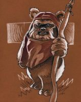 Ewok by EvanBryce