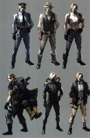 Leon RE6 Extra Costumes 2 by Sparrow-Leon