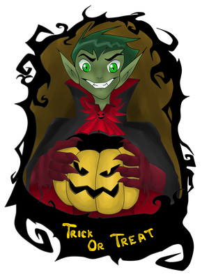 Contest: Halloween 2013 by BeastGreen
