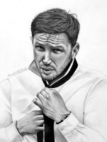 Tom Hardy [Commission] by RavenDANIELS