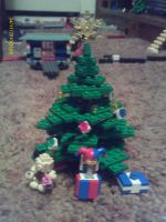 Lego Christmas: The Tree v2 by Tough-and-Heartless