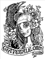 New gravetale.com sticker by dpdagger