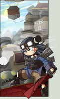 Steampunk Japan by CubeWatermelon