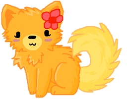 pom pom doge by Little-Painter