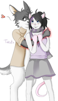 Commission - Cuties by Takoto