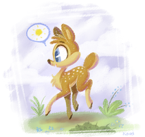 Good Morning my Deers by ninibleh