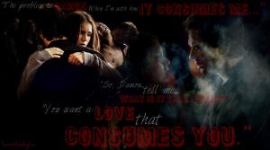 Damon and Elena ~ A Love That Consumes You by YoureStillAnInnocent