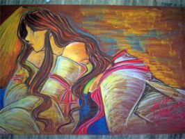 Mariang Makiling: Felt Paper by tonieliemariae