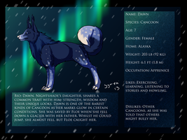 Dawn refrence sheet by Symrea