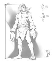 Future Comic Giant Height Comparison work by crMeyer