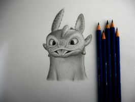 Toothless by 8Bpencil