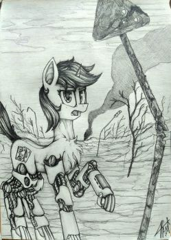the most common Baklajan in Equestrian wasteland by IvanMidnight