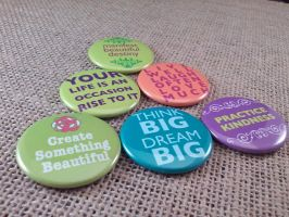 Inspriational magnets by FanaticalFactory