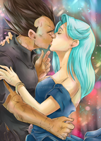 DBZ - Vegebul - Happy New Year 2017 by RedViolett