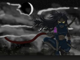 Evil Kunoichi by darksaint0523