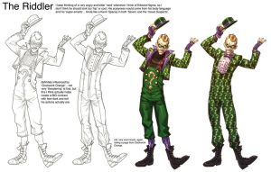 Arkham City Riddler by Chuckdee