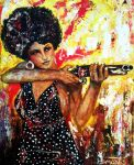 Coffy Pam Grier by amoxes
