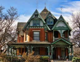 Victorian Home 1 Another view by Digipho333-Studio