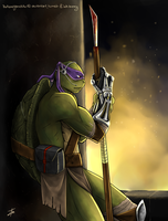 It's either them or us (Donatello) by BakaMeganekko