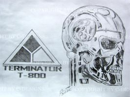 Terminator T-800 - I'll be back by Drawer88