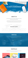Superb Website Template by sandracz