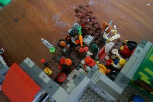 lego fallout city moc tavern by kabhes