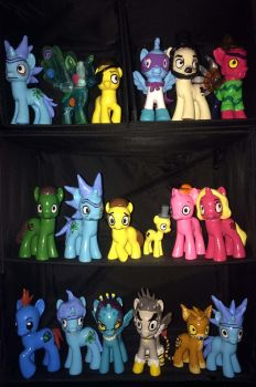 Rick and Morty ponies (full collection) by Evilunicorn97