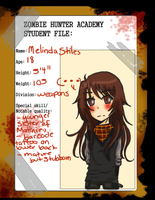 Mel student app by ChaHime