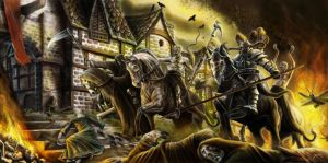 Horsemen of the Apocalypse by Blensig