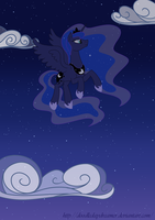 Luna Takes Flight by DoodleDaydreamer