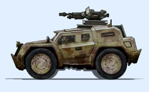 Urban Assault Vehicle design by RC-draws