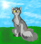 warriors challenge 1: Graystripe by Danny-Senpai