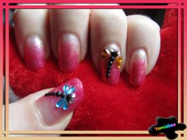 Autumn Has Come Nailart by Yamialexa