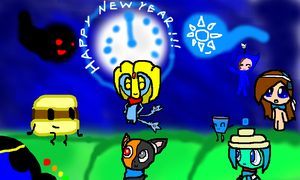 HAPPY NEW YEAR 2014-2015! by Uxie126