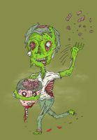Why zombies love brains by randyotter