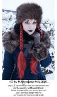 Wintertale Vintage Goth Girl Stock 009 by MADmoiselleMeliStock