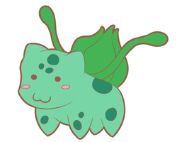 Chibi Bulbasaur by Lawlawruu
