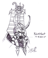 Nekhbet, Expositor of Plots by Daeouse