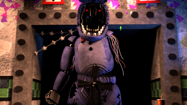 Withered Bonnie by Tim-Zillaboy