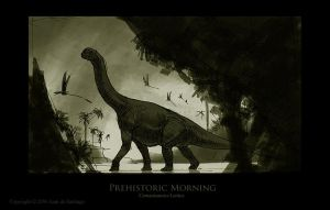 Prehistoric Morning by Red-Dilopho