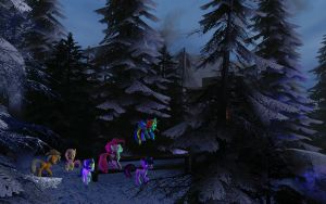 GMod: Into the Everfree Forest by BronyBiscuitBites