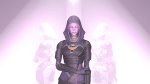 Tali Unmasked Pose 2 by SlipperyHammer
